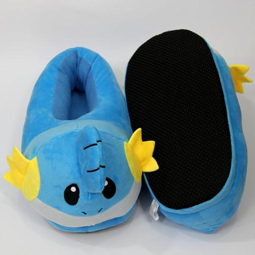 Snorlax & Mudkip Plush Slippers