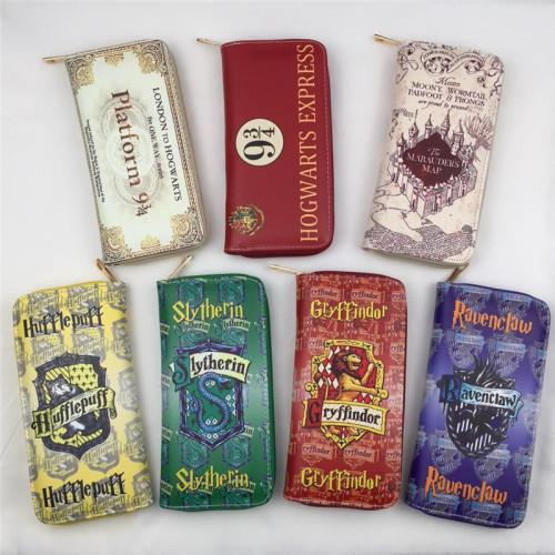 Harry Potter Long Zipper Wallets