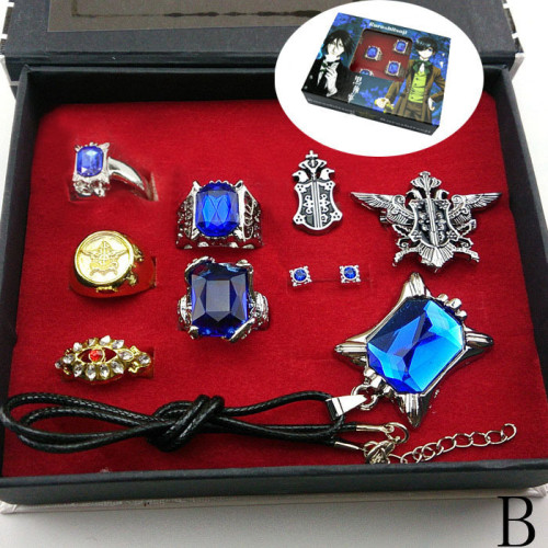 Ciel Dress Up Rings & Necklace Package