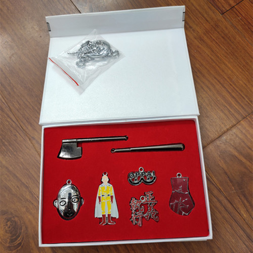 One Punch-man Key Chains & Necklace Package