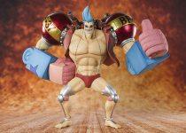 TAMASHII NATIONS One Piece Figuarts Zero Cyborg Franky Figure