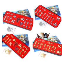 Kingdom Hearts Key Chains Package