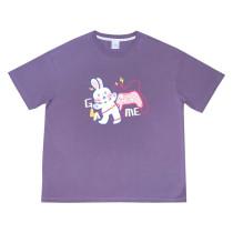 Cute Rabbit Colorful T-shirt