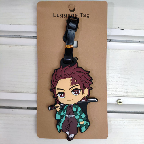 Demon Slayer Luggage Bags Loaded Identity Cards