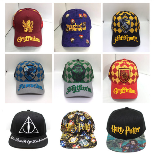 Harry Potter Mbroidery Hip - Hop Hats