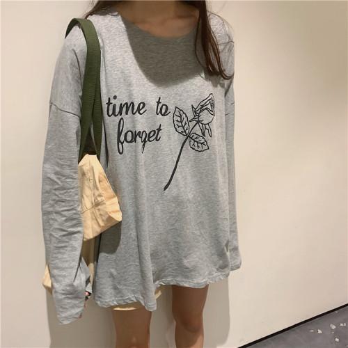 Loose BF Slouchy Long Sleeve Sweatshirt