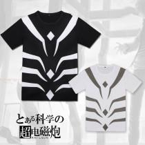 Toaru Majutsu No Index Round Collar T-Shirt