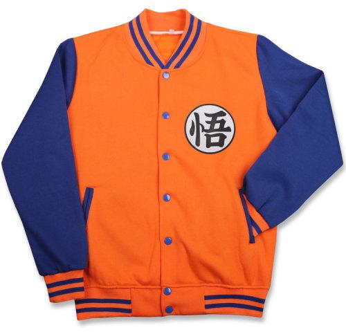Dragon Ball Son Goku Zip Baseball Jacket