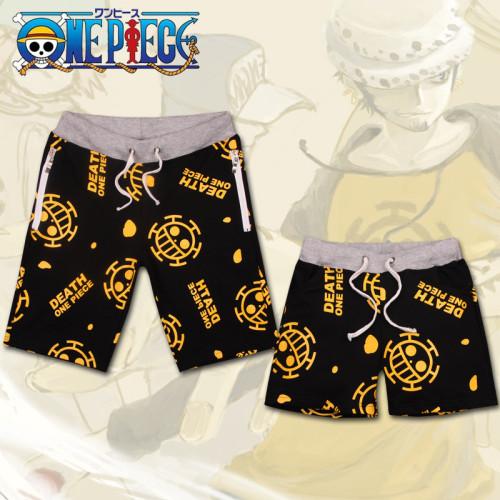 Anime One Piece Cos Couple Beach Shorts