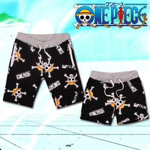 One Piece Couple Monkey D. Luffy Cos Sport Shorts