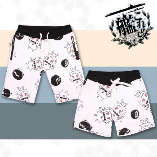 Anime Kantai Collection Hoppou Couple Beach Shorts