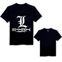 DEATH NOTE Yagami Light Cosplay Round Collar T-shirt