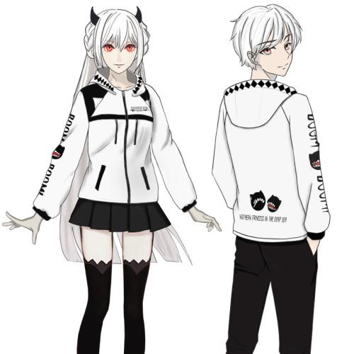 Anime Kantai Collection Hoppou Jacket