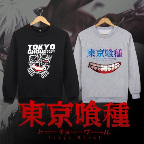Anime Tokyo Ghoul Kaneki Kencos Mask Round Collar Sweatshirt
