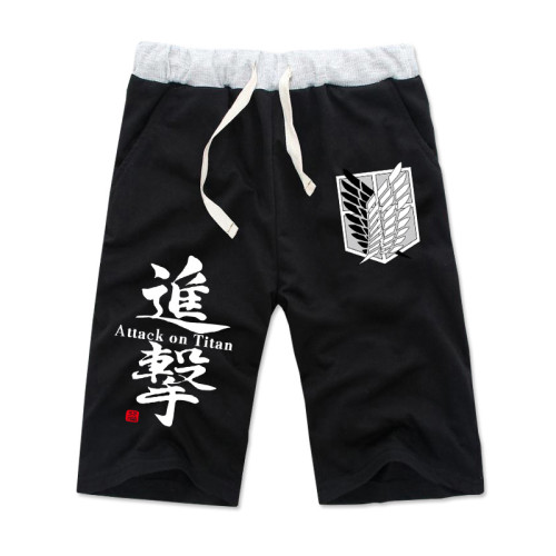 Anime Attack On Titan Beach Thin and Thick Shorts Pants