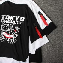 Anime Tokyo Ghoul Kaneki Kencos Mask T-shirt