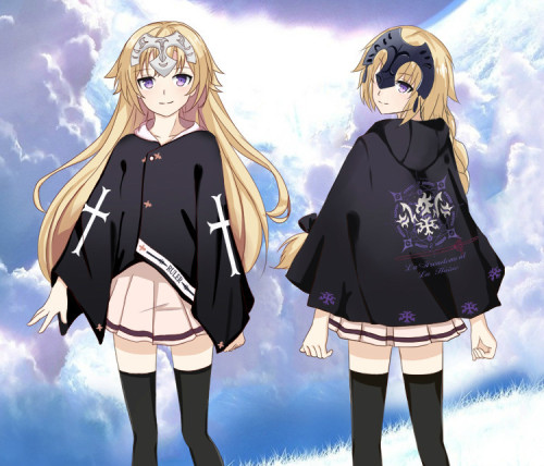 Anime Fate Night Joan of Arc Cloaks
