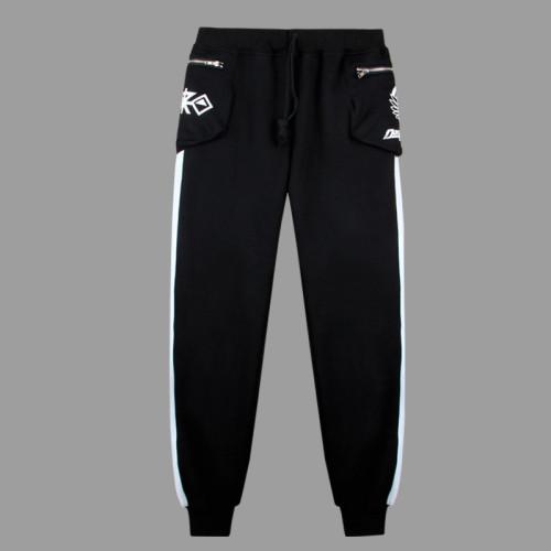 Danganronpa Black and White Bear Monokuma Pants