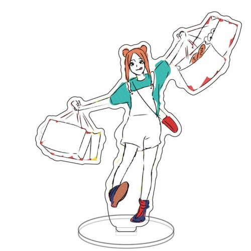 Anime Sorcery Fight Jujutsu Kaisen Mondstadt Theme Kugisaki Nobara Acrylic Stand Model Plate Key Chain