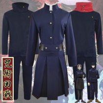 Anime Sorcery Fight Jujutsu Kaisen Yuji Itadori Cosplay Costume