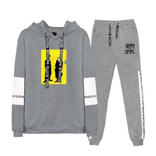 Anime Sorcery Fight Jujutsu Kaisen Two Piece Set Long Sleeve Hoodies+Sweatpants