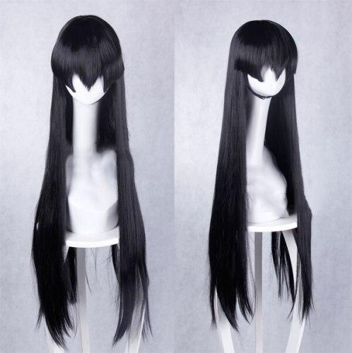 Akame Ga KILL Akame Black Sleeveless Uniform Outfit Cosplay Costumes and Wig Christmas Gifts