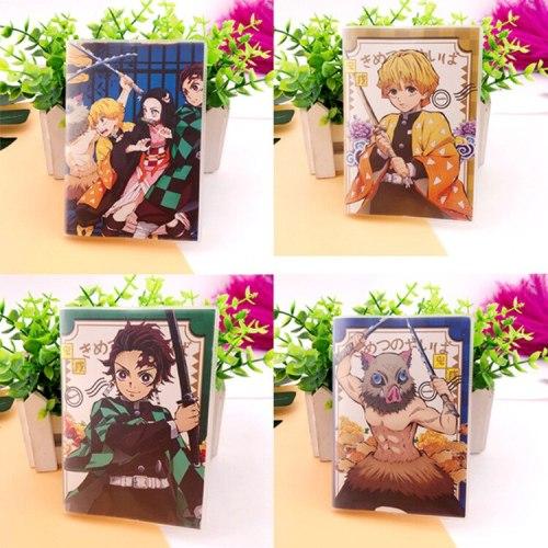 Anime Demon Slayer Kimetsu No Yaiba Notebook: Kamado Nezuko Tanjirou Agatsuma Zenitsu Christmas Gifts
