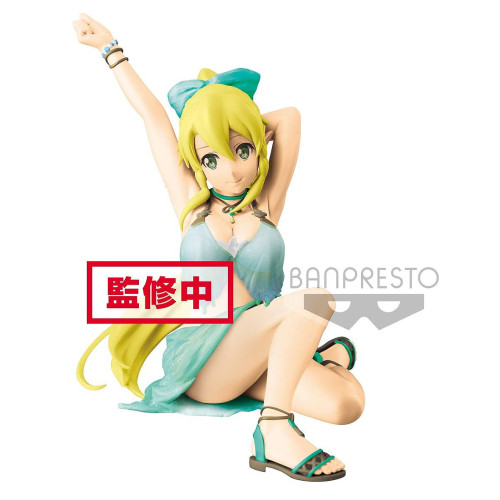 Banpresto Sword Art Online Memory Defrag Exq Leafa Green/White Figure