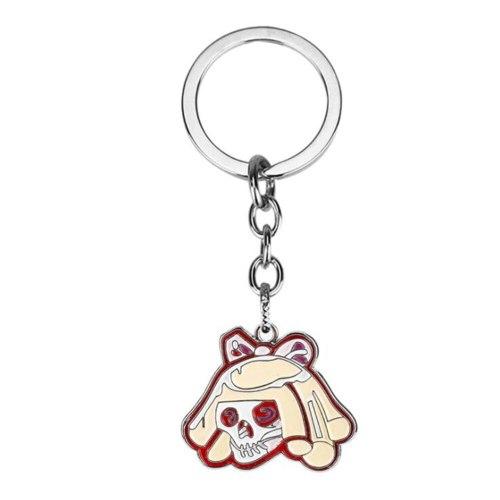 Game Cyberpunks 2077 Punk Jewelry Two-piece Pendant Keychain Christmas Gift