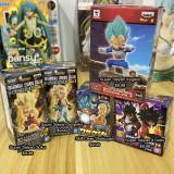 Anime Dragon Ball Figure Skill Clear Shokugan Super Saiyan Goku Vegeta Gotenks