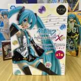 Vocaloid Hatsune Miku Figure Smile Ver./Support Ver. Project DIVA Arcade Future Tone