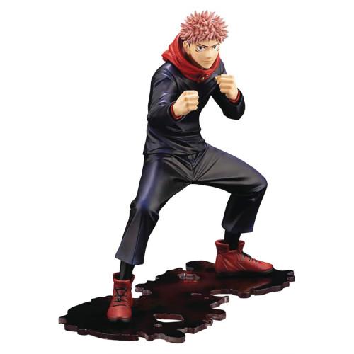 Kotobukiya Anime Sorcery Fight Jujutsu Kaisen Yūji Itadori Pvc Figure (Preorder)