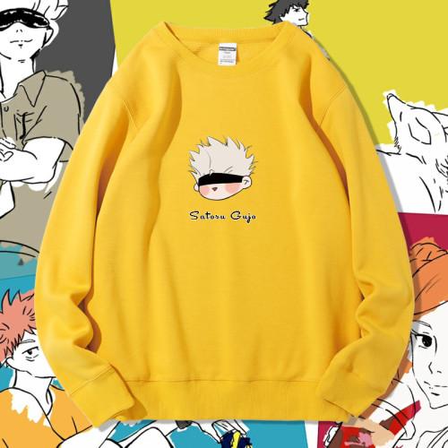 Anime Jujutsu Kaisen Gojo Satoru Printing Kawaii Sweatshirt