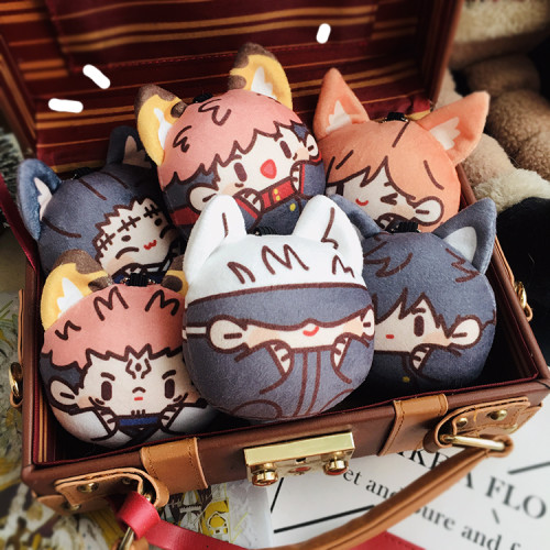 Anime Jujutsu Kaisen Cute Plush Stuffed Toys Pendants Yuji Itadori Gojo Satoru Fushiguro Megumi Kugisaki Nobara