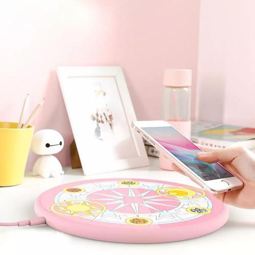 Anime Card Captor Sakura Magic Wireless Phone Charger CCS 10W