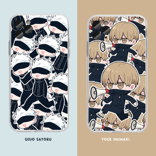 Anime Sorcery Fight Jujutsu Kaisen For iPhone Android Silicone Phone Case