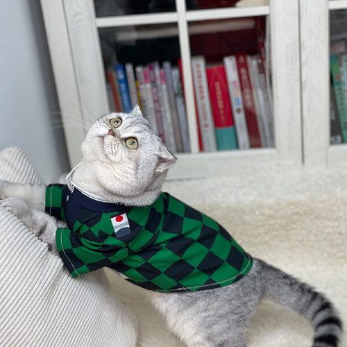 Anime Demon Slayer: Kimetsu no Yaiba Pet Costume Cat Clothes Cloak Cosplay Outfits