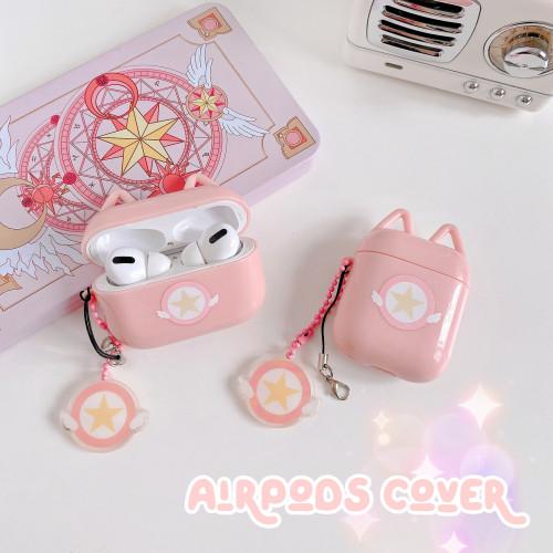 Anime Cardcaptor Sakura AirPods Cover Wireless Bluetooth Headset Case