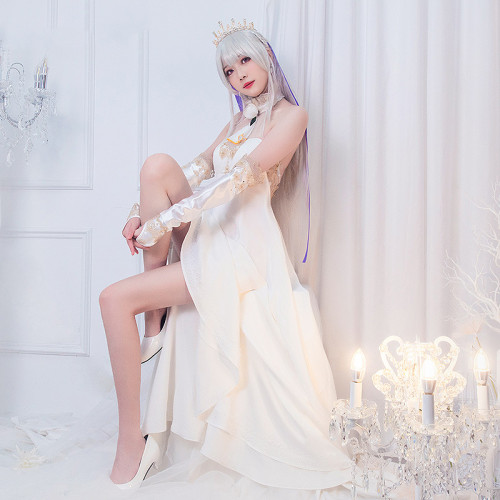Anime Re: Life in a Different World from Zero Emilia Cosplay Costume