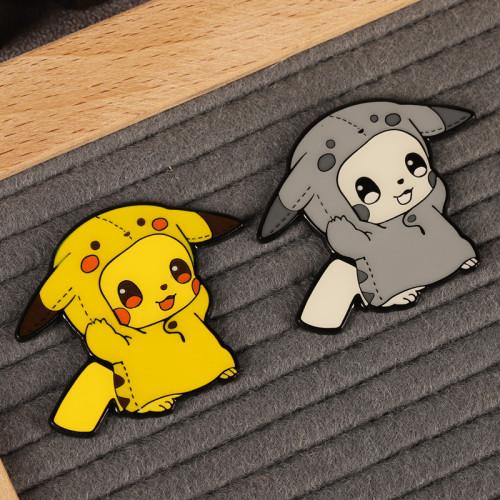 Anime Pikachu Badge Pokémon Brooch Cute Cartoon Accessory