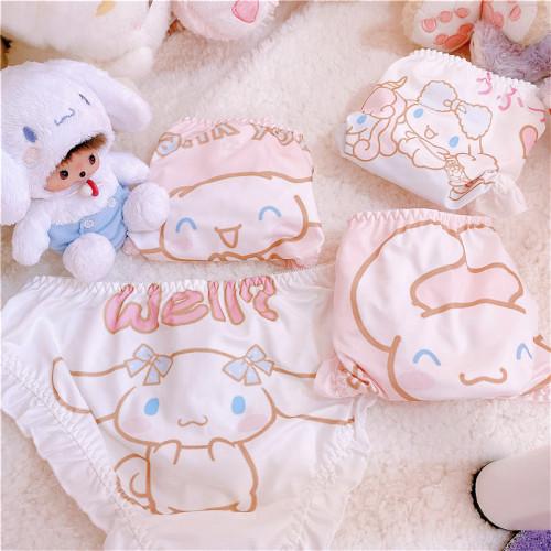 Kawaii Cinnamoroll Super Cute Girls Underwear Panties