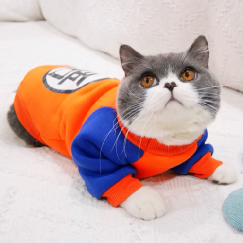 Anime Pet Cat Cosplay Costume Summer Vest and Hoodie