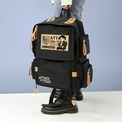 Anime Attack on Titan Large Capacity Backpack School Bag