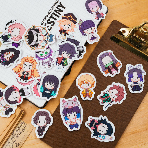 Anime Demon Slayer: Kimetsu No Yaiba Waterproof Stickers