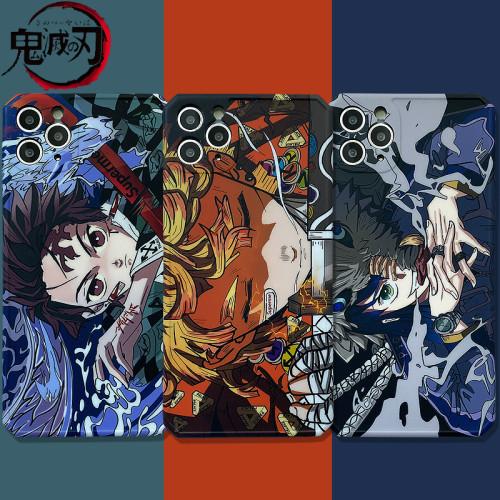 Anime Demon Slayer: Kimetsu No Yaiba iPhone Cases for XR iPhoneX