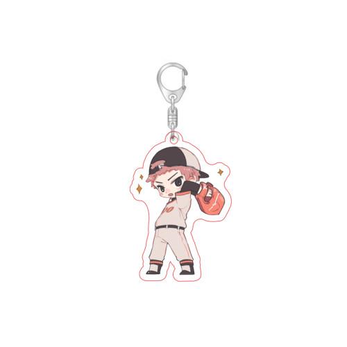 Anime Jujutsu Kaisen Gojo Satoru Yuji Itadori Fushiguro Megumi Cute Keychain Pendant