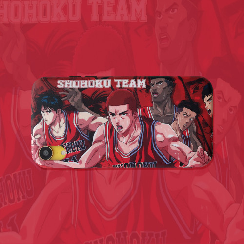 Anime SLAM DUNK Sohoku Team Sakuragi Hanamichi Kaede Rukawa iPhone Cases