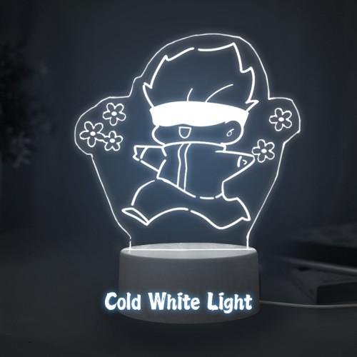 Anime Jujutsu Kaisen Gojo Satoru Acrylic Night Light 3 Colors