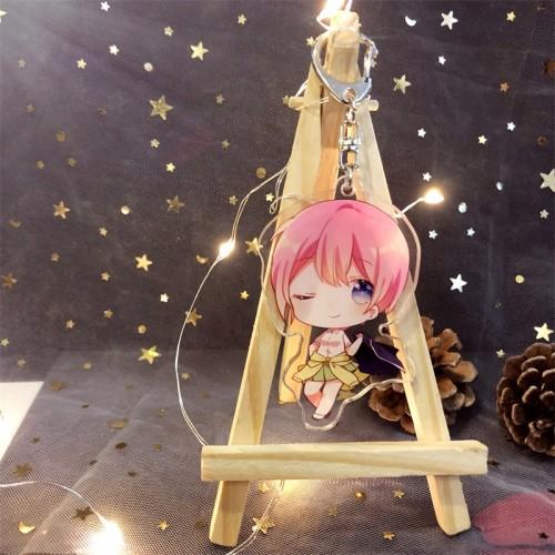 Anime The Quintessential Quintuplets Cute Keychain Acrylic Pendants