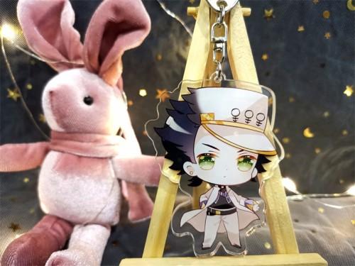 Anime JoJo's Bizarre Adventure Golden Wind Acrylic Keychain Pendants